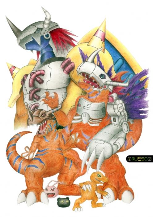Digimon por RUSSO